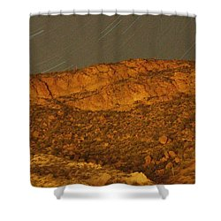 Mountain Trails Shower Curtain by David S Reynolds