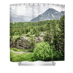 Mountain Vistas Shower Curtain