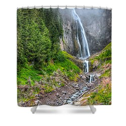Mountain Waterfalls 5808 Shower Curtain
