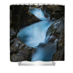 Mountain Waterfalls 5863 Shower Curtain