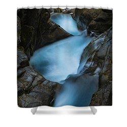 Mountain Waterfalls 5863 Shower Curtain by Chris McKenna