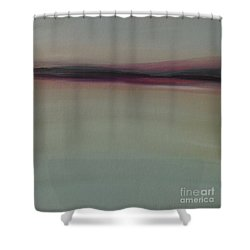 Mountains At Dawn Shower Curtain