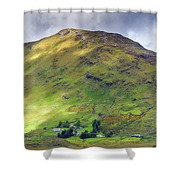 Mountains Of Ireland Shower Curtain