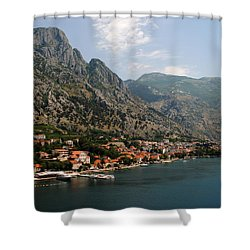 Mountains Of Montenegro Shower Curtain