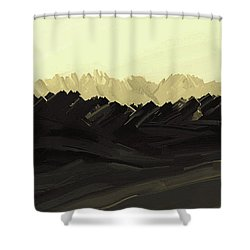 Mountains Of The Mohave Shower Curtain