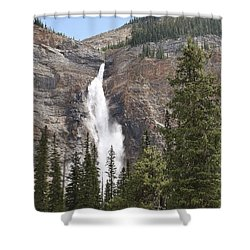 Mountian Water Shower Curtain