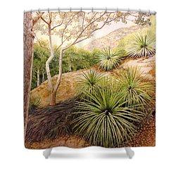 Mountian Yucca Shower Curtain