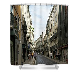 Mouraria 1 Shower Curtain