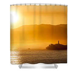 Mouro Island Shower Curtain