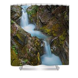 Moutain Waterfalls 5857 Shower Curtain by Chris McKenna