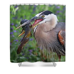Mouthfull Shower Curtain