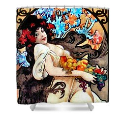Shower Curtain featuring the photograph Mova Promo 2017 by Padre Art