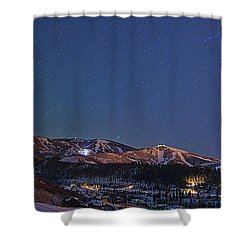 Movement All Around Shower Curtain
