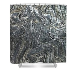 Movement In The Earth Shower Curtain