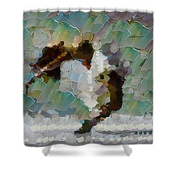 Movement Theory - Ballerina Shower Curtain by Sir Josef - Social Critic -  Maha Art