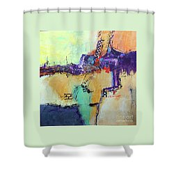 Movin' Left Shower Curtain