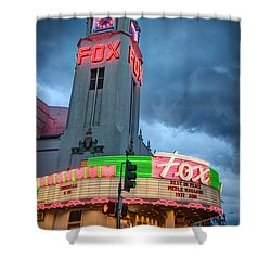 Movie Theater Tribute To Merle Haggard Shower Curtain