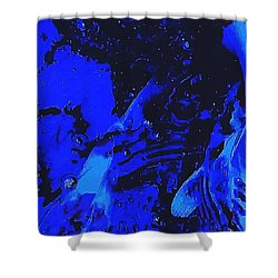 Movements In Silence  Shower Curtain