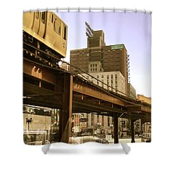 Moving Boxes Too Shower Curtain by Trish Hale