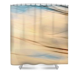 Moving Branches Moving Clouds Shower Curtain