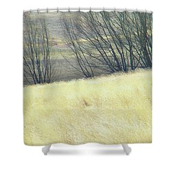 Moving On From Virginia Dale Shower Curtain by Lenore Senior