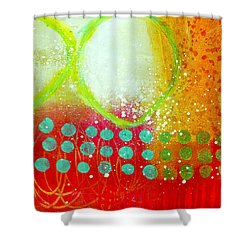 Moving Through 10 Shower Curtain by Jane Davies