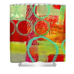 Moving Through 31 Shower Curtain by Jane Davies