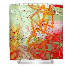 Moving Through 34 Shower Curtain by Jane Davies
