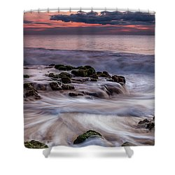 Moving Waters Shower Curtain