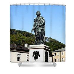 Mozart In Salzburg Shower Curtain