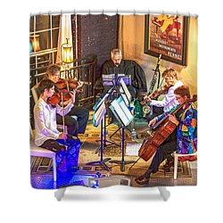Shower Curtain featuring the photograph Mozart Mash by Anthony Baatz