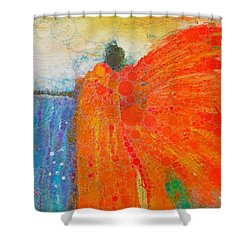 Mprints - Angel Of The Morning Shower Curtain