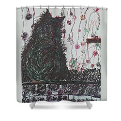 Mr. Cat Shower Curtain
