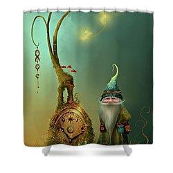 Mr Cogs Shower Curtain