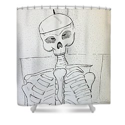 Mr Cooper's Aide Shower Curtain