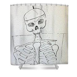 Mr Cooper's Aide Shower Curtain by Loretta Nash