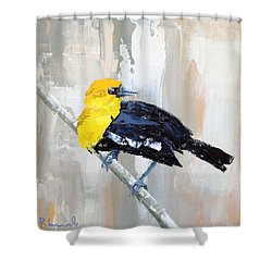 Mr. Curious Shower Curtain