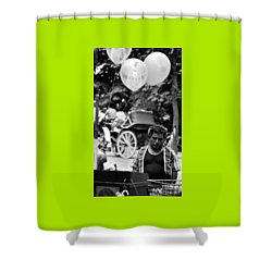 Mr. Fiesta Shower Curtain