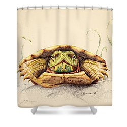 Mr. Flo Shower Curtain