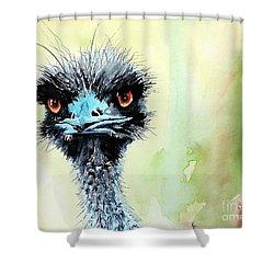 Mr. Grumpy Shower Curtain