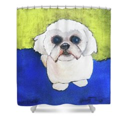 Mr. Ling Shower Curtain