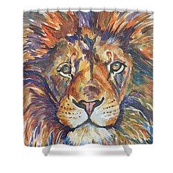 Mr Majestic Shower Curtain by P Maure Bausch
