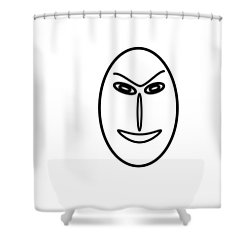 Mr Mf Is A Friendly Asian Shower Curtain