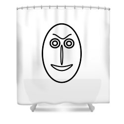 Mr Mf Is A Little Bit Friendly  Shower Curtain