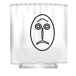 Mr Mf Is Helpless Shower Curtain