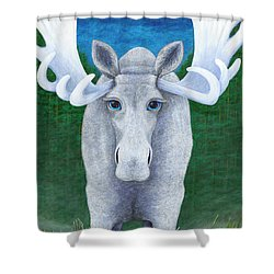 Mr. Moose Shower Curtain
