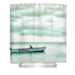Mr. Party Shower Curtain
