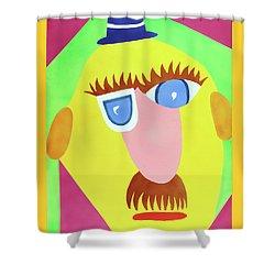 Mr. Strangefellow Shower Curtain by Thomas Blood