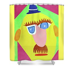 Mr. Strangefellow Shower Curtain