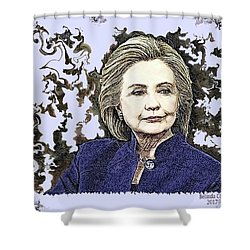 Mrs Hillary Clinton Shower Curtain